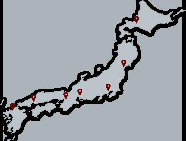 全国ネットワーク地図